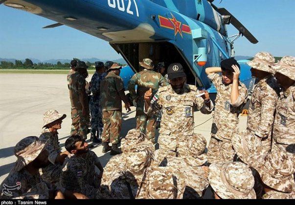 الحرس الثوري يجري تدريبات في الصين7
