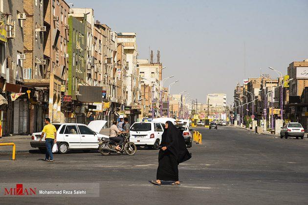 مدينة أهواز تحترق !8