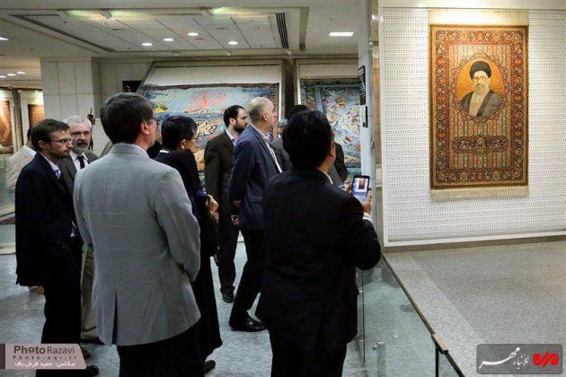 العتبة الرضوية تستضيف السفراء الاجانب لدى طهران 8