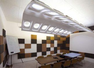 تزئین دکوراسیون داخلی با قطعات هواپیما!8