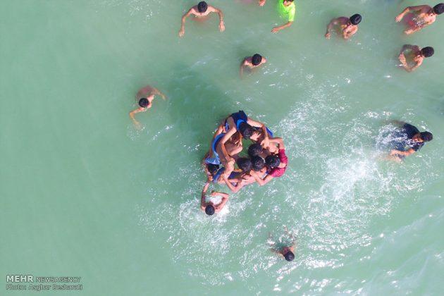 """احتفال """"نوروز الصياد"""" في جزيرة قشم الايرانية 8"""