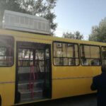 Bus Equipped with Evaporative Cooler Unveiled in Iran