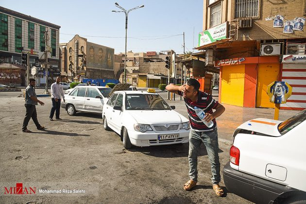 مدينة أهواز تحترق !9