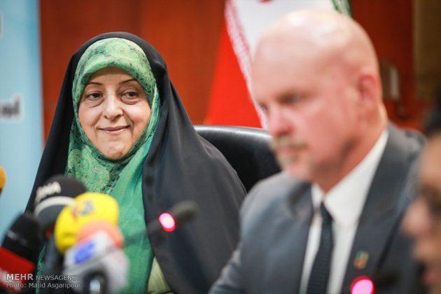 طهران .. مؤتمر مكافحة العواصف الترابية 9