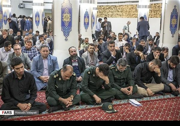 مجلس تأبين ضحايا الحادث الارهابي في البرلمان الايراني 9