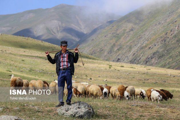 مصيف قوش غولو الساحر شمال غرب ايران 9