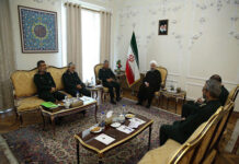 Iran President Meets Top IRGC Commanders