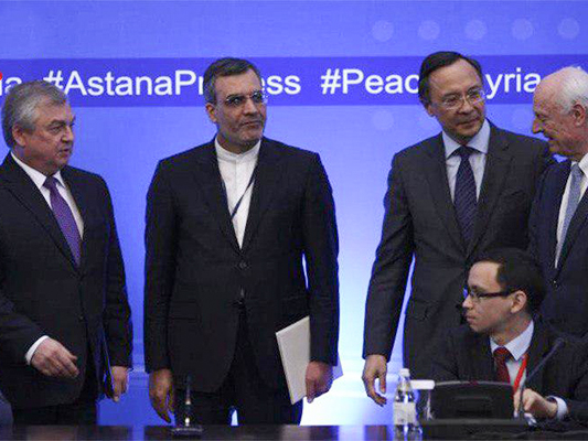 Iran, Russia, Turkey Hold Trilateral Meeting in Astana