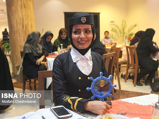 Iranian Woman Elected as Best Sailor of Year