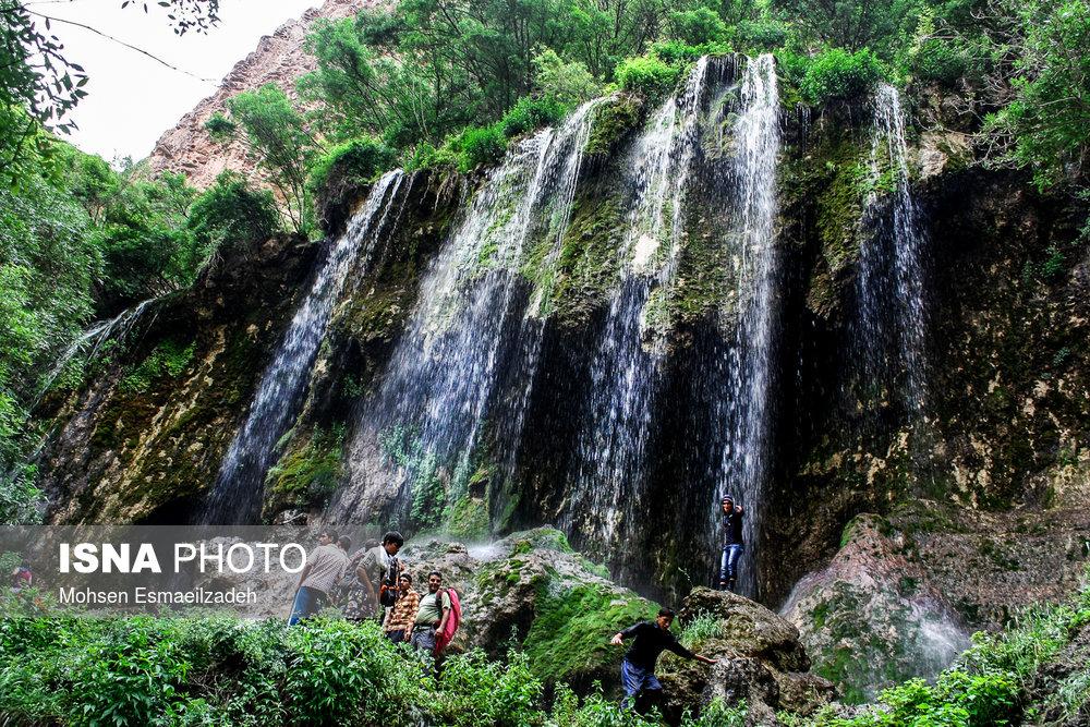 Akhlamad waterfall, Northeastern Iran