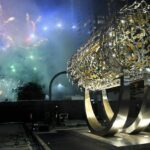 Los Angeles 'Freedom' Sculpture Inspired by Cyrus Cylinder