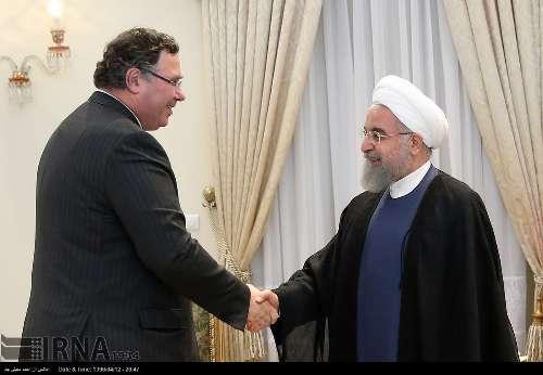 الرئيس روحاني: العقد المبرم مع