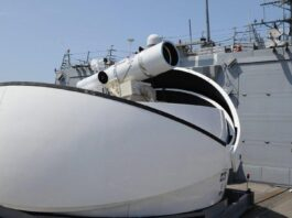 US Tests Laser Weapons System in Persian Gulf