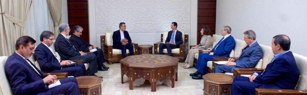 الأسد..دعم ايران للشعب السوري أحد اسباب صمودنا بوجه الإرهاب