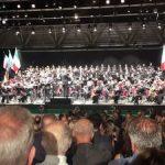 احترام 4000 ایتالیایی به سرود ملی ایران