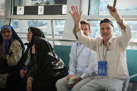 ايران .. اول قافلة للحجاج تتوجه الى الديار المقدسة