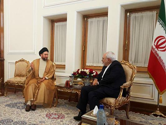 Iran FM, Iraq's Ammar Hakim Meet in Tehran