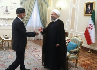 Oman Top Diplomat Holds Talks with Iran President, FM