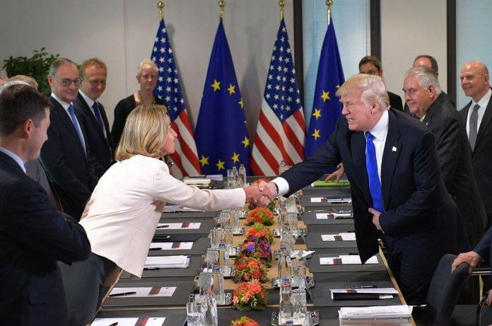مسیر متقاطع آمریکا و اروپا به سمت ایران