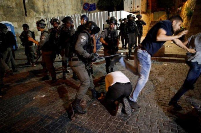 14 زخمی در حمله اسرائیلیها به نمازگذاران فلسطینی