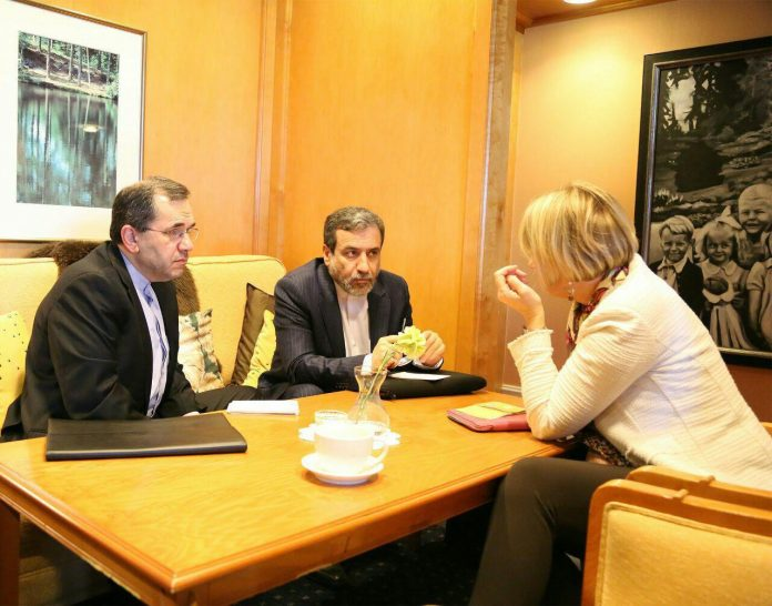 اولین دیدار دوجانبه ایران و دولت جدید آمریکا