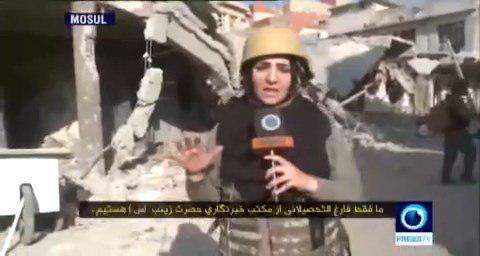 اولین خبرنگار جنگِ زن