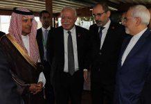 مُصافحة تاريخيّة ومُفاجئة بين وزيري خارجية إيران والسعوديّة في إسطنبول