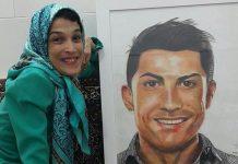 فاطمه حمامی، نقاش معلول ایرانی