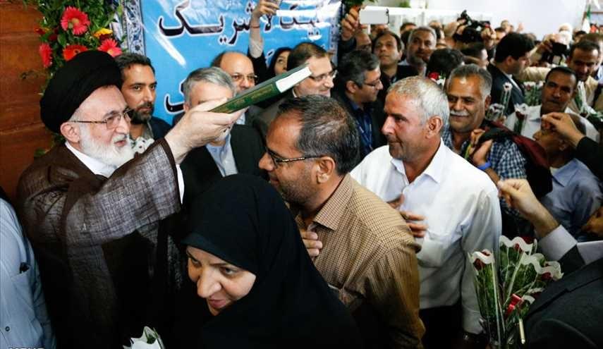 الحجاج الايرانيون يودعون وطنهم قاصدين اداء مناسك الحج