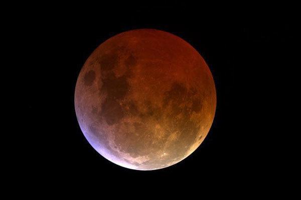 ظاهرة خسوف القمر في ايران10