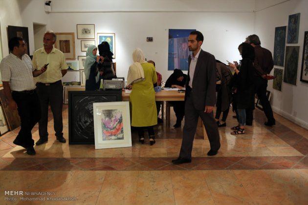"""معرض """"سوق الفن"""" في العاصمة طهران 10"""