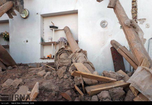 هزة ارضیة بقوة 4.9 درجات تضرب شمال غربی ایران10