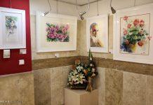 معرض الرسم بالألوان المائية بطهران10