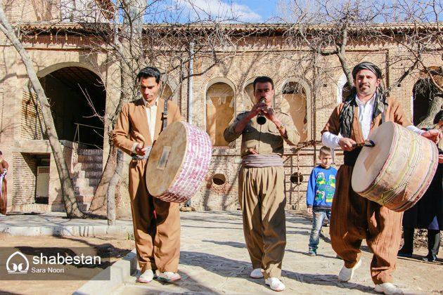 """"""" كلاش """" حذاء تراثي في مريوان الايرانية 1"""