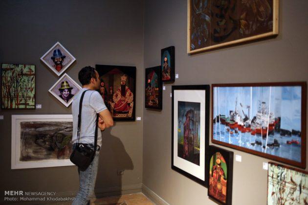 """معرض """"سوق الفن"""" في العاصمة طهران 11"""
