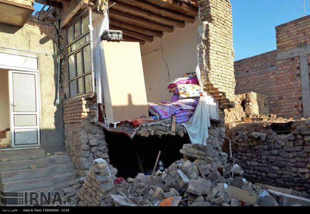 هزة ارضیة بقوة 4.9 درجات تضرب شمال غربی ایران11