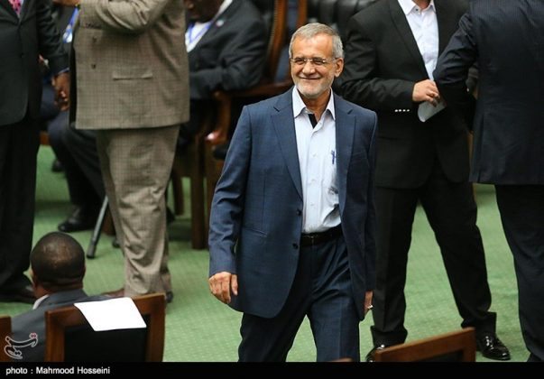مراسيم أداء الرئيس روحاني اليمين الدستورية11