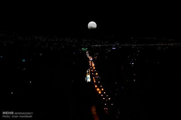 ظاهرة خسوف القمر في ايران12