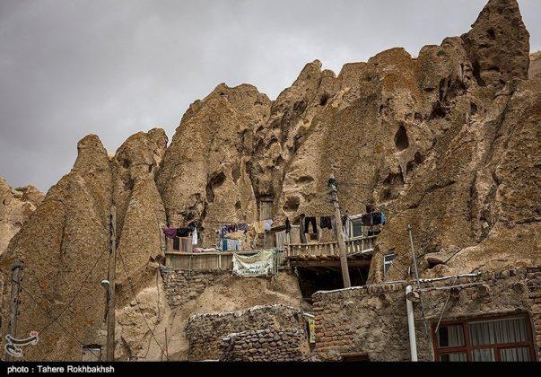 """قرية """"كندوان"""" تحفة منحوتة بين الصخور 12"""