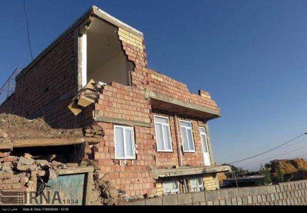 هزة ارضیة بقوة 4.9 درجات تضرب شمال غربی ایران12