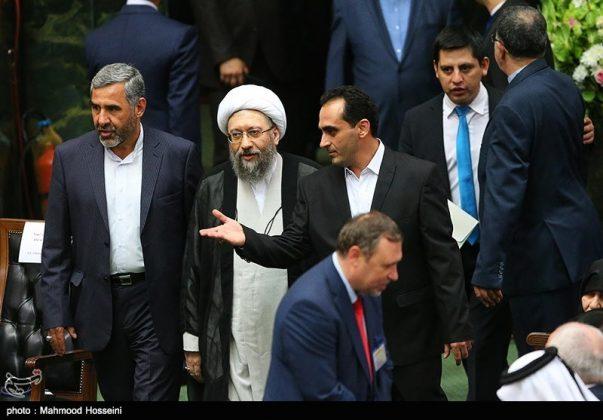 مراسيم أداء الرئيس روحاني اليمين الدستورية12