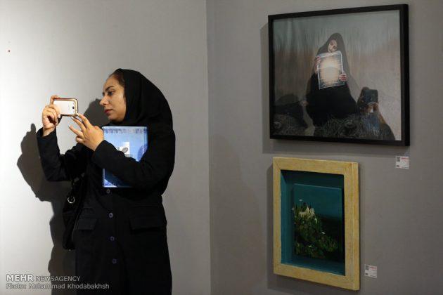 """معرض """"سوق الفن"""" في العاصمة طهران 13"""