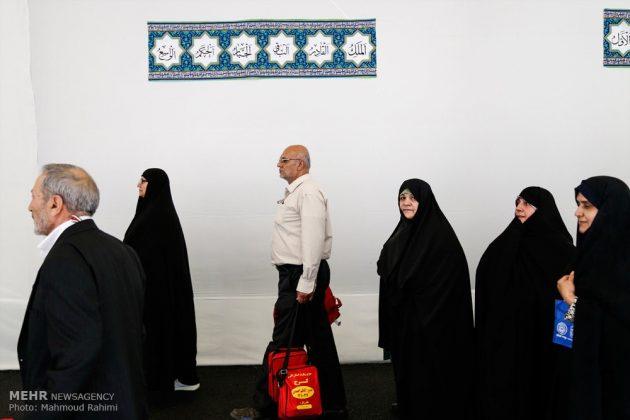 الحجاج الايرانيون يودعون وطنهم قاصدين اداء مناسك الحج 12