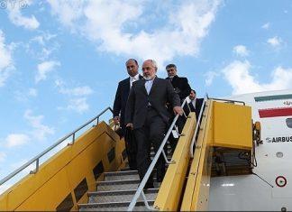 ظريف يصل اسطنبول للمشاركة في اجتماع منظمة التعاون الاسلامي