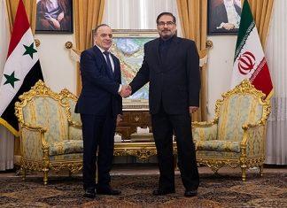 ایران .. نقف الى جانب سوريا وندعمها حتى انتهاء الازمة