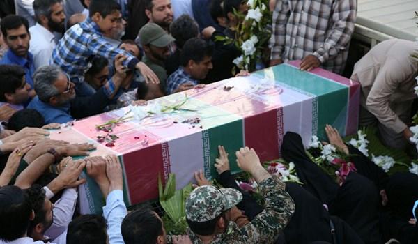 عقيد في الحرس الثوري الايراني بسوريا في ذمة الله