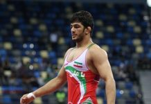 المصارع الايراني حسن يزداني الافضل بالعالم في تموز