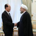 الرئيس الايراني يدعو الى الحوار لحل مشاكل شبة الجزيرة الكورية