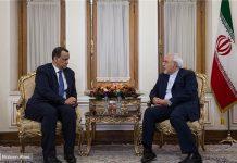 ظريف يؤكد على ضرورة الحل السياسي الشامل في اليمن