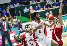 ايران تتغلب على الاردن في بطولة آسيا بكرة السلة